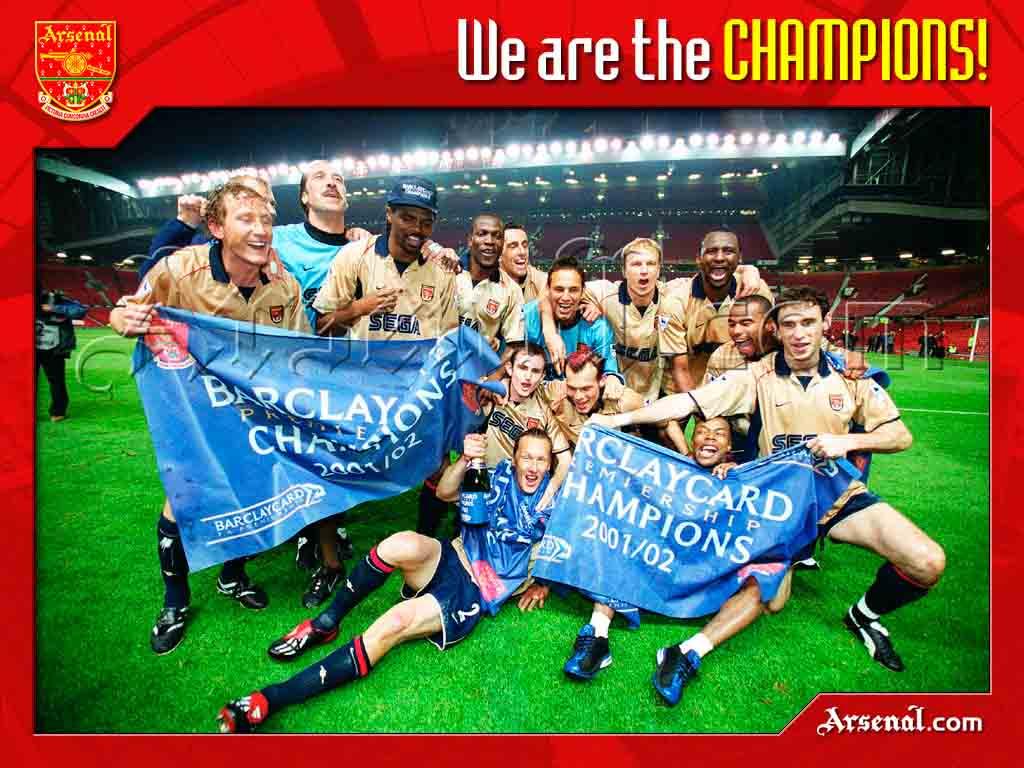 Champions ! 2001 - 2002