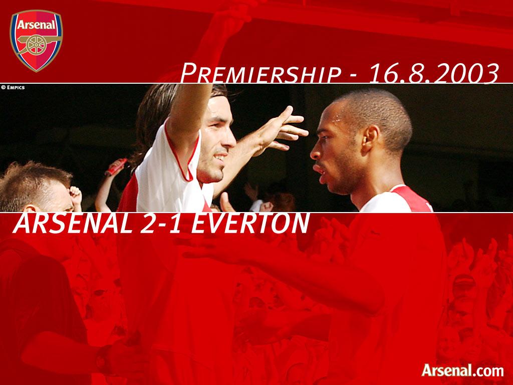 Arsenal vs Everton '03-'04