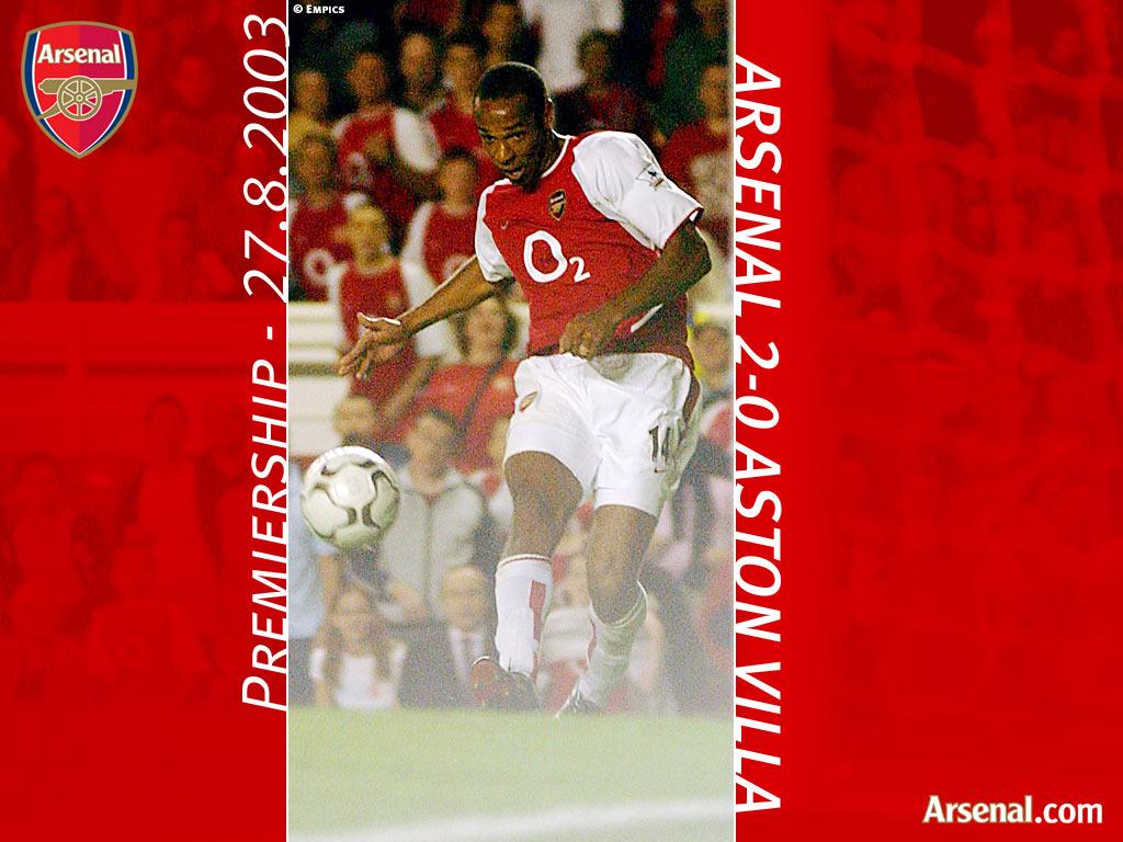 Arsenal vs Aston Villa '03-'04